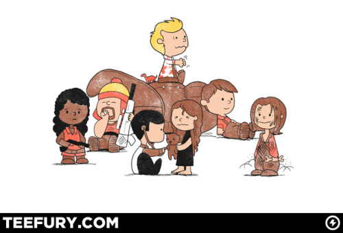 "Mash-Up Time! #FireFly #Peanuts @teefury #Teeshirt The artist: http://www.teefury.com/people/33860/queenmob/about this design.I  have never done many ""mash-up"" shirts, but this idea seemed simple  enough to work for me because it's two ideas I can stand for: Firefly  and the Peanuts. Both rock, both are awesome. So why not merge them in  one design? I also feel both ""gangs"" have things in common – they argue,  they make each other angry, they have adventures together and in the  end they stick together. The execution of the design was easier than I  thought, it works with my ""cute"" drawing style."