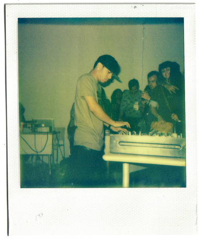 Araab MUZIK @ The New Museum. Polaroid / Impossible Film