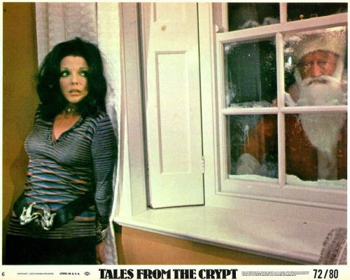 Joan Collins versus a murderous Santa in Tales from the Crypt (1972). Goodness me, it's December already. Maybe it's time for me to stop hiding in terror from all things Christmassy…