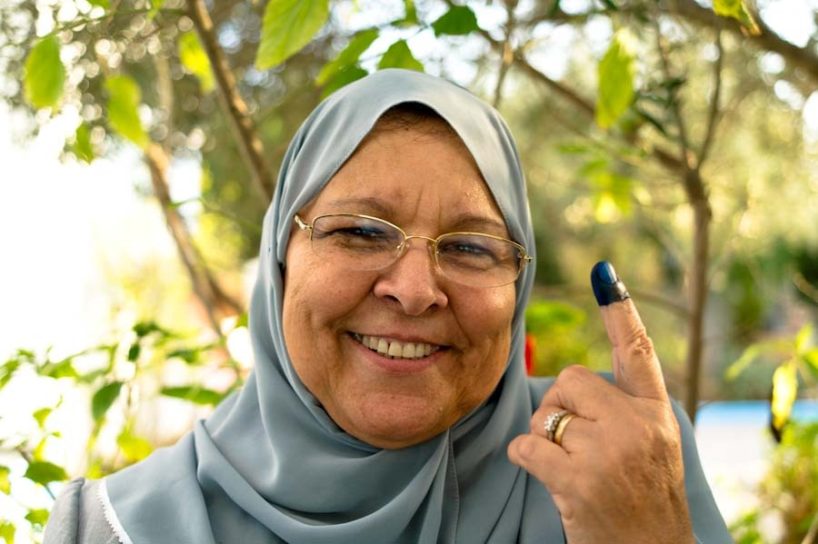 tunisia votes : i voted I