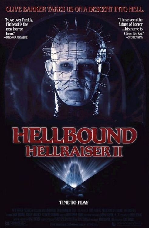 Movie of 21/10/11's 18:00 Hour Hellbound: Hellraiser 2 (1988)