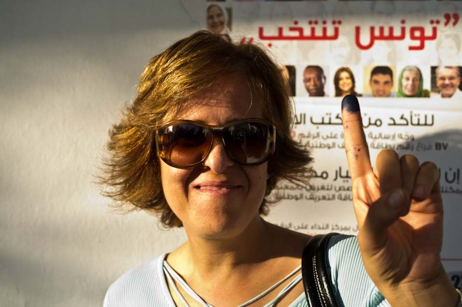 tunisia votes : i voted IV