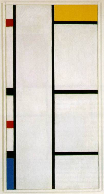 cavetocanvas:  Piet Mondrian, Composition No. III Blanc-Jaune, 1942 (Submitted by Zach)