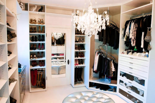 One day, one day… onlyforthegirly:  another view of this closet is here