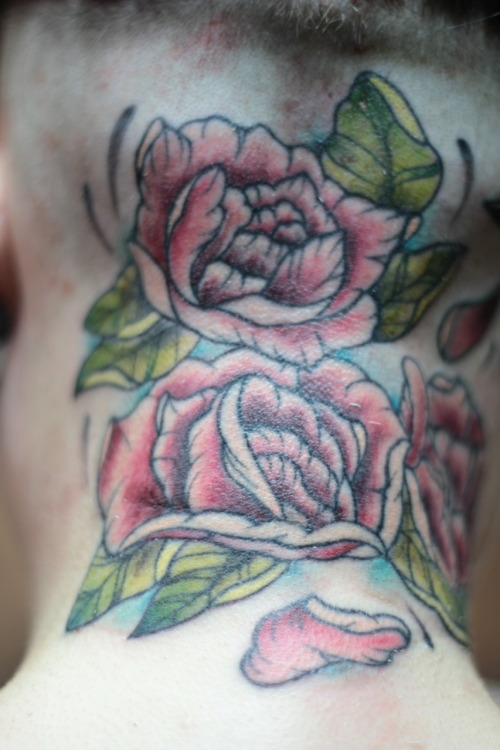Tattoo by Jennie Tiesman, Rockford Il http://www.facebook.com/jennie.tiesman Watch the video process of this tattoo! don't by Neil Bloom http://www.facebook.com/vpvideo