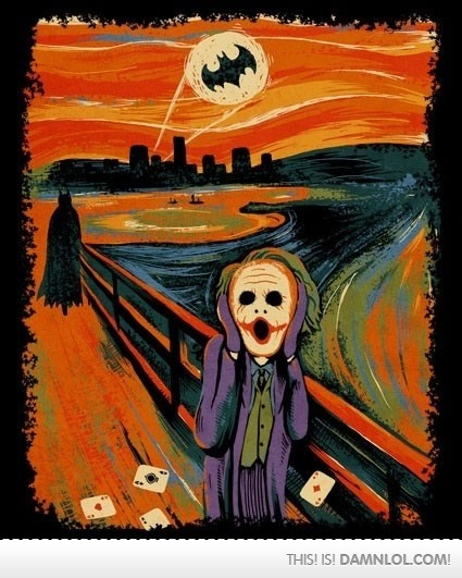 One Of The Best Versions Of 'The Scream'