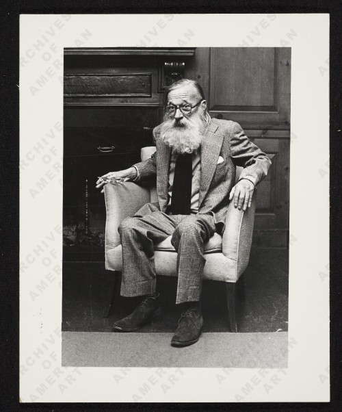 Walker Evans  The great man discusses his work.  Click here for a transcript of an 'Oral history interview with Walker Evans, 1971 Oct. 13-Dec. 23'