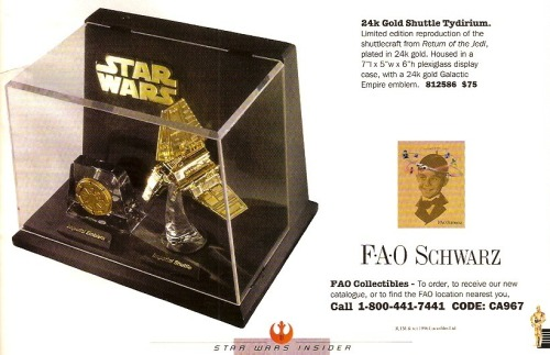 "retrostarwars:  ""The perfect gift for the loved ones in your life."""