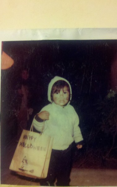 Lol!!! So this is me on Halloween back when I was two, found this picture  on my dad's fridge, even back then I was down with cats!!!