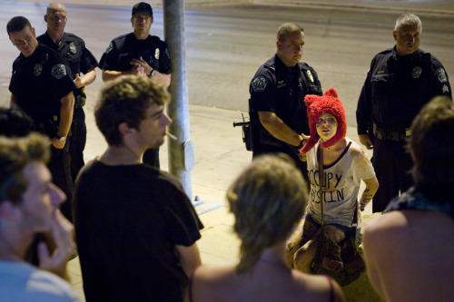 #arrested at #occupyAustin
