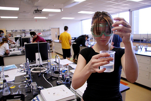 Chemistry lab (by ASU Enrollment Marketing & Communications)