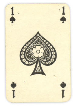 spades-and-clubs:  Ace of Spades