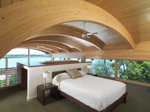 housesanddesign:  Bedroom from the Casey Key Guest House by TOTeMS Architecture