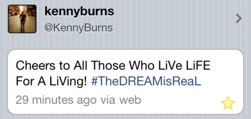 #tweetoftheday #InstantFAVORITE via: @kennyburns #CHEERS