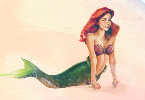 It's kind of creeping me out how much this Ariel resembles me. Via The Mary Sue and artist Jirka Väätäinen's real-world versions of Disney Princesses.