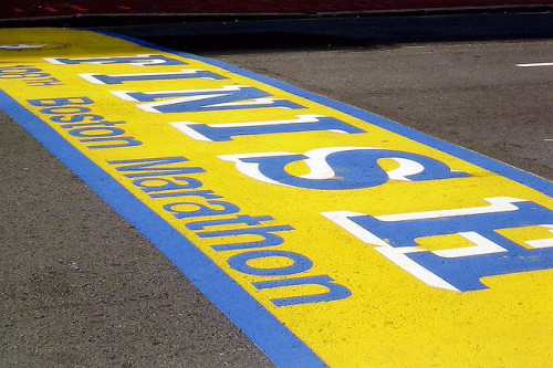 Boston: Boston Marathon Finish Line by wallyg on Flickr.