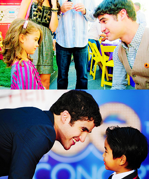 If you couldn't be an actor, what would you be?  Darren: A teacher. A Dad. Closest thing to being a superhero.