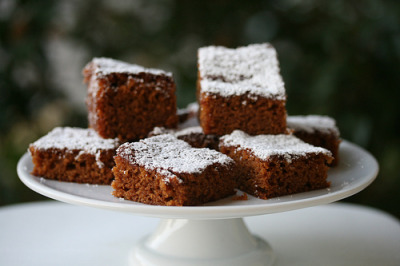 wehavethemunchies:  Gingercake - Culinary Institute of America (by Food Librarian)