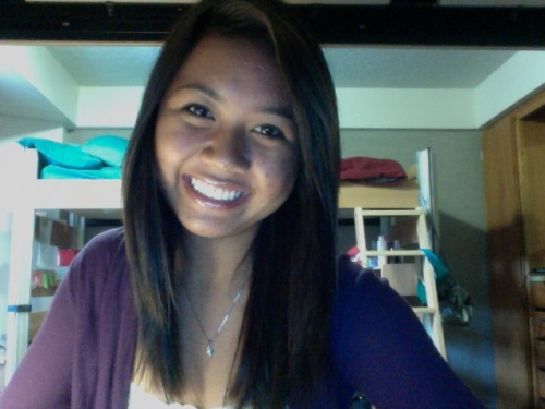 Gotta have one of those dorm webcam pictures :)