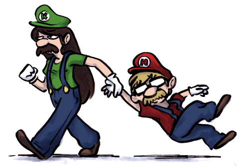 vondell-swain:  Hank and Katherine play Super Mario Brothers Wii (hankgames)  hahaha this is wonderful.  And so true.