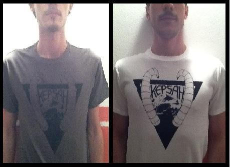 Horned K-Shirts, graphics by Laterraurla