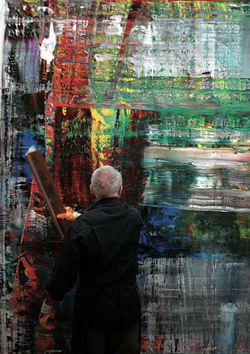 i-donline:  The Richter Scale The Gerhard Richter retrospective at the Tate Modern will give you as good a gander at his artwork as you're going to get, but Corinna Belz's new documentary 'Gerhard Richter Painting' takes you way beyond the caption, watching him work.  i-Donline.com