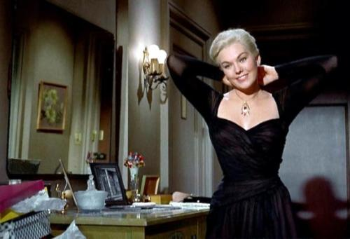 "Kim Novak in ""Vertigo"",1958."