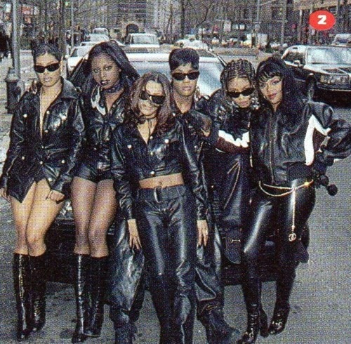 Total, Foxy Brown, Da Brat & Queen Bee Lil Kim #BackInTheDays