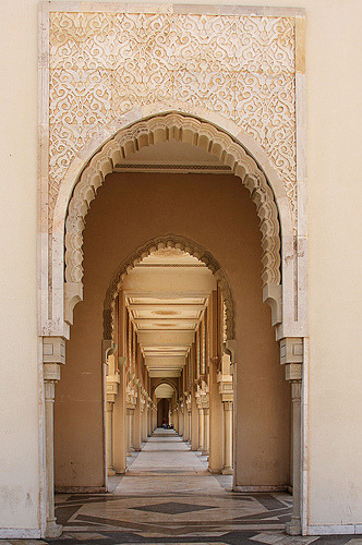 Hassan II Mosque in Casablanca, Morocco (by ~ania♥ - in Morocco for a while…)