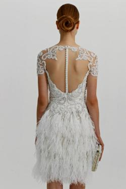 helloweddingdiary:  Marchesa Fall 2012 Bridal Collection