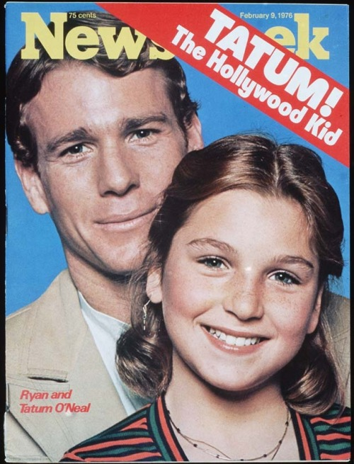 "As Tatum O'Neal pens our current ""My Turn"" column reflecting on childhood memories honoring recently deceased agent Sue Mengers, it seemed an opportune  time to unearth this fascinating cover story of the then 12-year old from February 9, 1976.  …My relationship with my dad is extremely precious.  Nobody in the world has a relationship like that.  Me and my dad- it has nothing to do with sex.  It's not perverse.  Some people think like that because we're too close.  People are weird…"