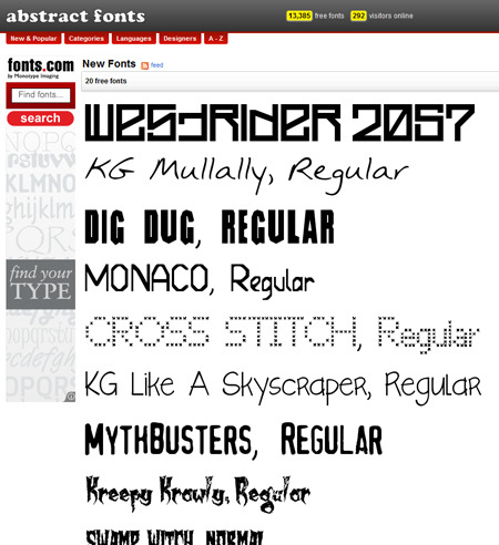 Freehand Profit designed his new font Westrider 2057 specifically for the cover to my new track West Side Fo' Life feat. Zodiak KIlla & Shock G. Check it out and download it from AbstractFonts.com. The song is available for Free Download too!