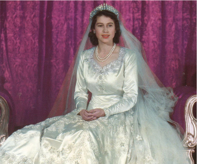 royal-jewel:  PRINCESS Elizabeth, WEDDING…. (1947)