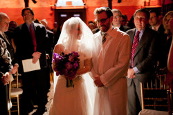 Shuli and David Get Married [PART 1 of 2]: They are both rabbis and got married at Angel Orensanz Foundation  which is an amazing venue located among the tenement buildings of the East Village/Lower East Side — a converted synagogue.   MUSIC by (Rabbi) Greg Wall…check out this article about him in the NY Times  CATERER: Main Event FLORIST: Mimulo
