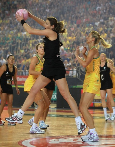 While most Americans have never even heard of basketball's cousin, netball, take a look at the packed stadium for this match between Australia and New Zealand and ask yourself how often women's basketball in the USA ever gets crowds like this?