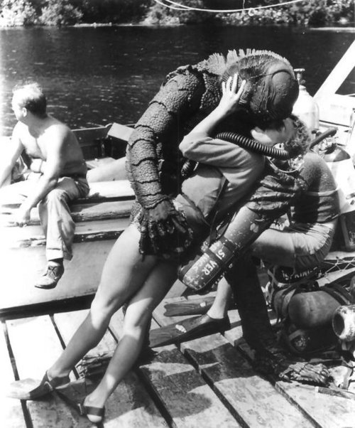 Creature from Black Lagoon (1954) directed by Jack Arnold.