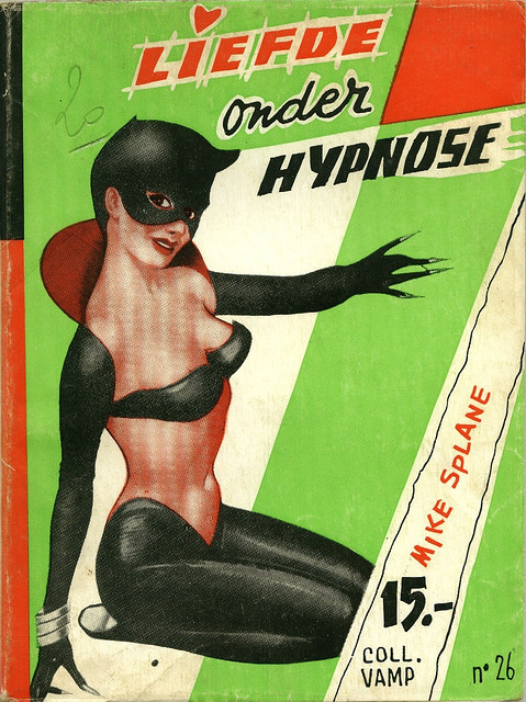Dutch/Belgian pulp magazine of Mike Splane 1960s