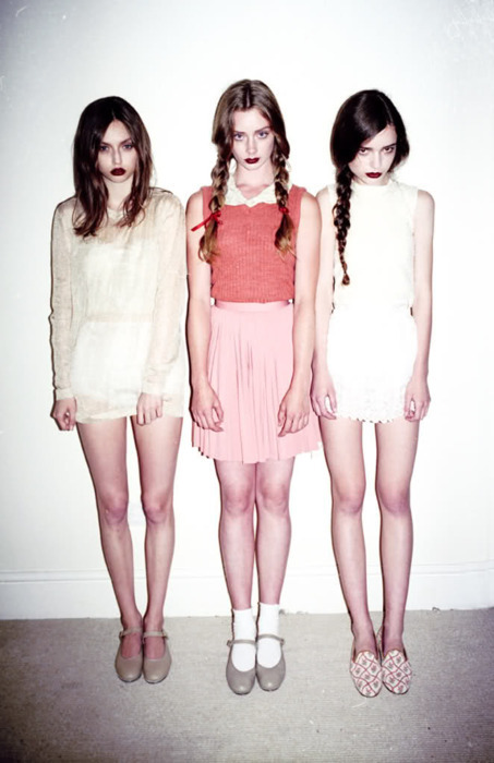 Well… these three girls are obviously ghosts. But have they been sent from heaven or hell? I vote I don't really give a shit, because I'm happy they're here.