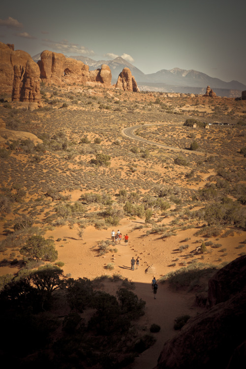 ROAD TRIP image no. 309 Arches National Park, Utah July 1st, 2011 + click through to see larger