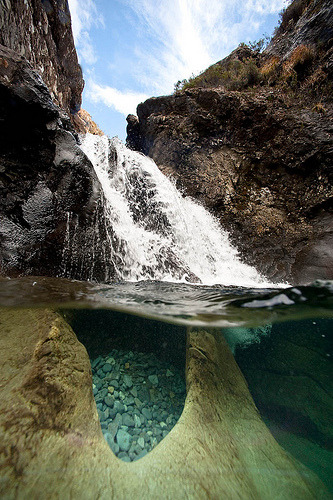Fairy Pools, Glen Brittle, Isle of Skye, Scotland (by AbyssalPlain)