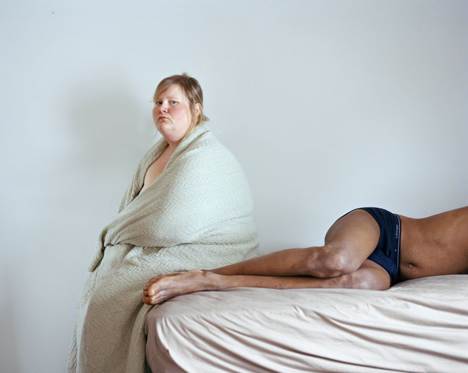 "Jen Davis ""Steve and I"" (2006) from the series ""Self-Portraits"""