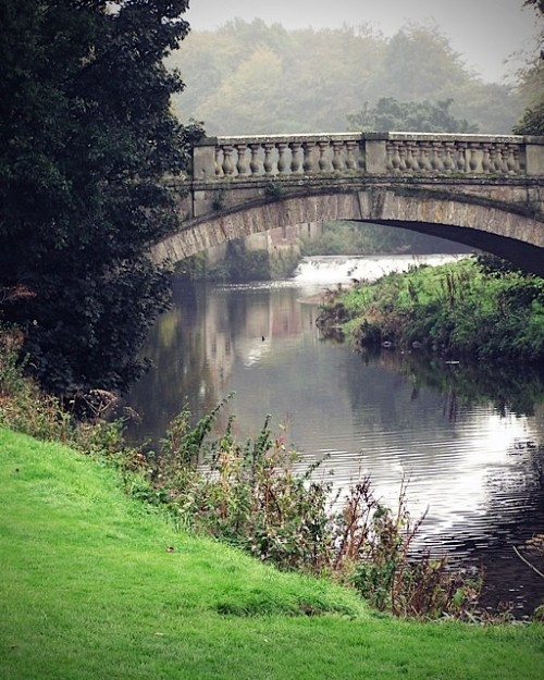 Bridge inside Pollock Country Park in Glasgow, Scotland (via Bridges of Scotland 8x10 Fine Art Photograph by trekkerjen)