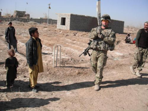 Probably the best ever photo of British Forces in Afghanistan.