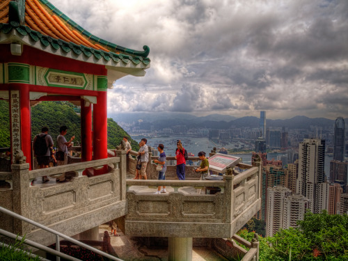 """The view from Victoria Peak"" by A-GARAGE"
