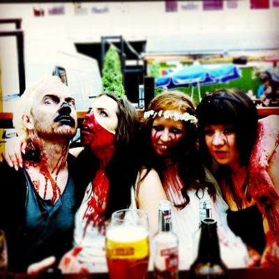 Drinking #Dead #zombies #corpse #blood #gore #pus #goo #igeire #ignation #igers #flesh #walkers #devour #fibbers #novelty #halloween (Taken with instagram)