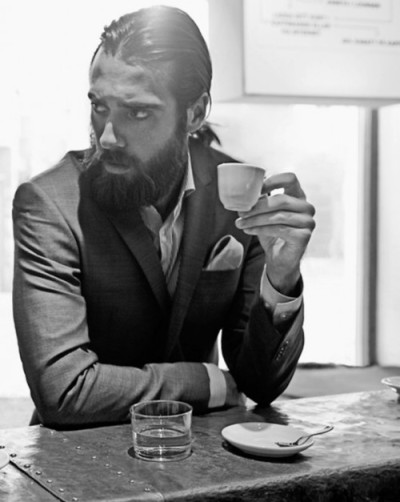 Beards and a good coup of coffee.