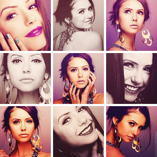 "Female Crushes - Nina Dobrev  ""Every role is a challenge.I want to keep doing everything I want to try to do things that aren't similar to one another."""