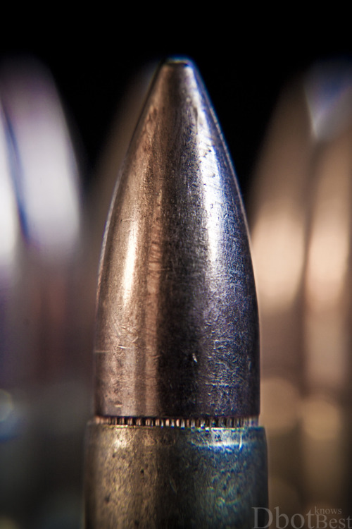 dbotknowsbest:  Feeling macro today.  7.62x39mm FMJ