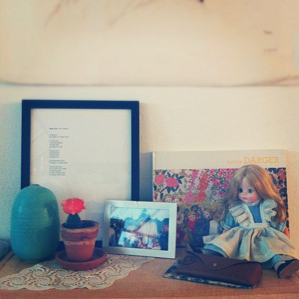 More things to love about my studio. (Taken with instagram)