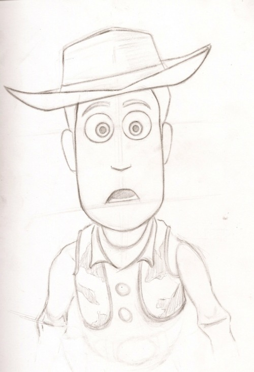 Sketch of woody